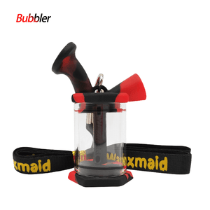 Waxmaid blunt bubbler-black red