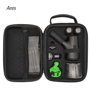 Waxmaid vaporizer Ares dab rig with travel bag portable electric dab rig