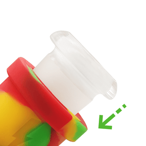 Waxmaid glass adapter