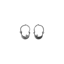 Little Moon & Cz, hoop earring