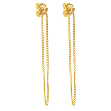 Tria earrings, long