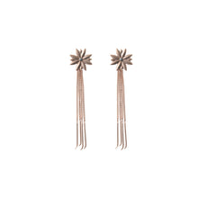 Tristan Star Chains, short earring