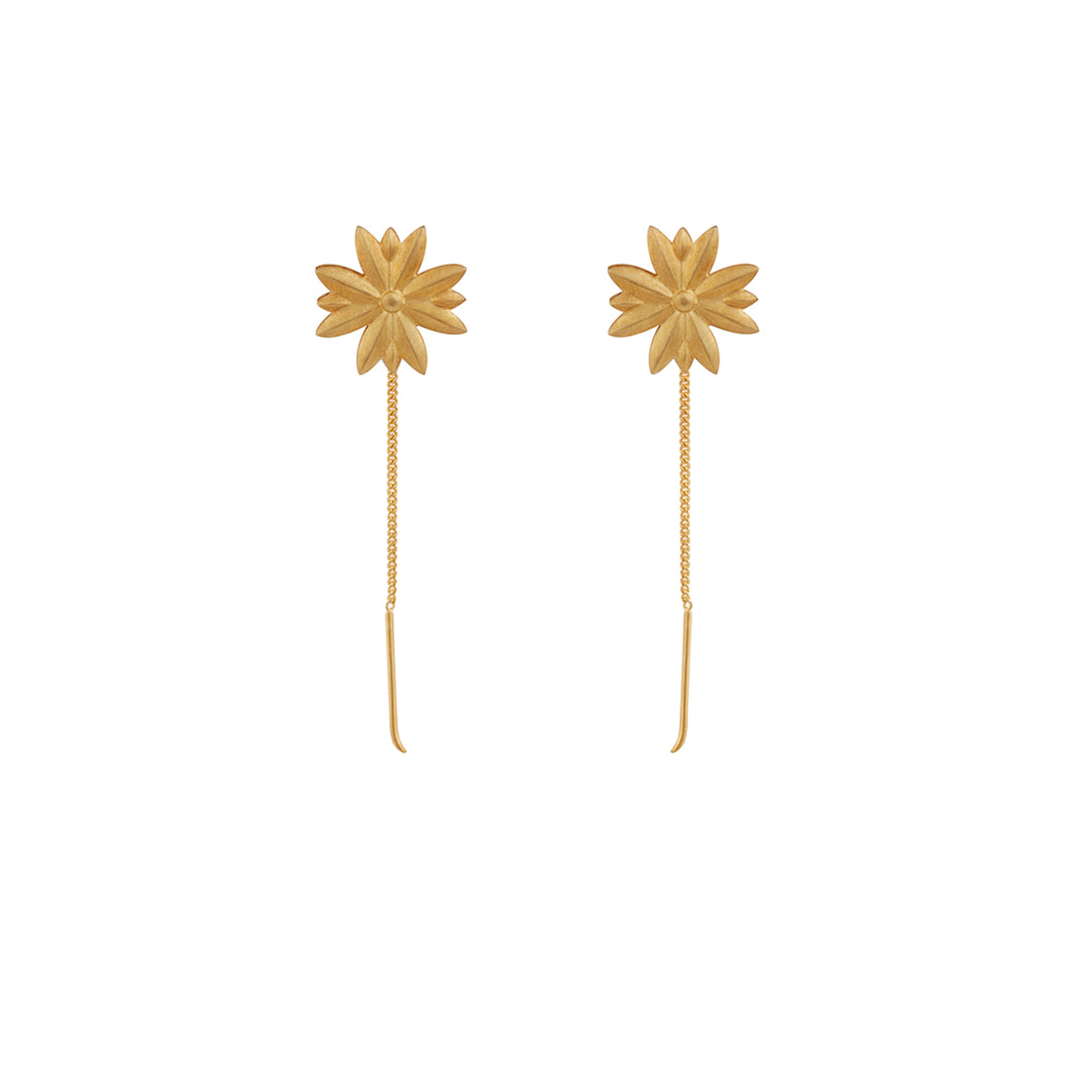 Tristan Star single chain, short earring