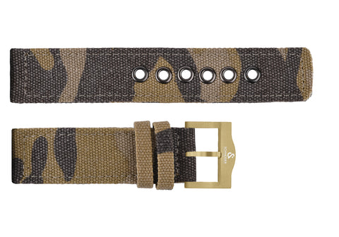 Military fabrics strap/yelow Buckle