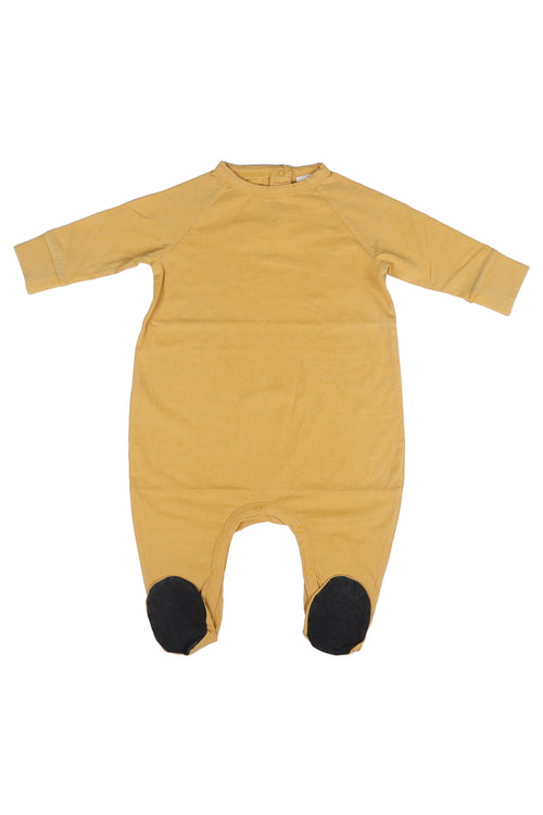Baby camel onesie from light jersey