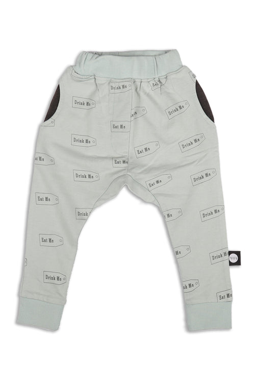 Baby Light blue unisex straight pants