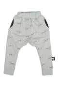 Kids Light blue unisex straight pants