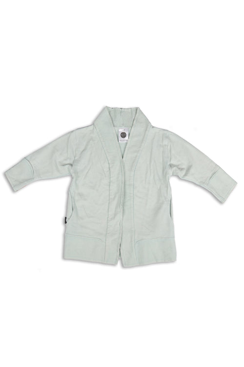 Kids unisex light blue cardigan Samples Sale (Size 2-3)
