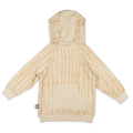 Teens ivory trees hoodie with ivory panels at the back