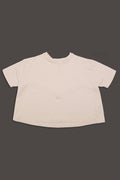 Nude A line shaped teens shirt