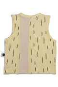 Baby dusty yellow unisex tank