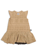 Girls Sand drop waist dress