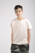 Teens dusty T shirt turkiz with perspective print