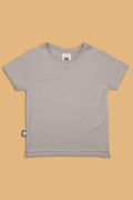Kids grey T shirt with puzzle print