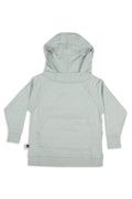 Kids & Teens unisex stonewashed light blue hoodie sweatshirt
