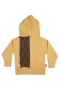 Women Camel long hoodie - Small size