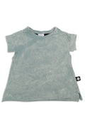 Girls Dusty teal tunic