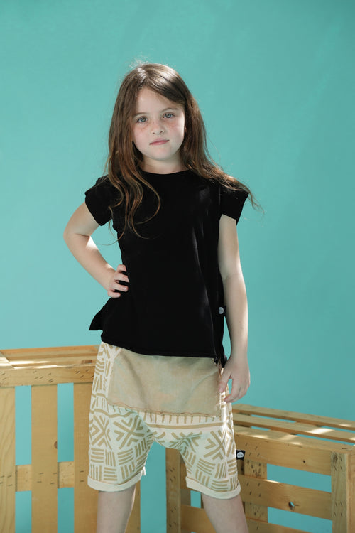 Girls Black tunic