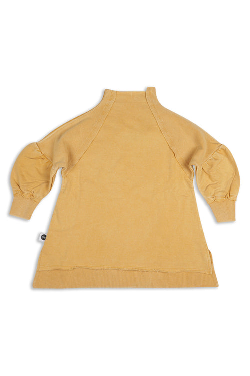 Girls Camel tunic sweatshirt