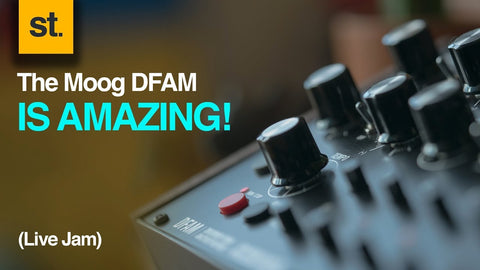 The Moog DFAM is Amazing!