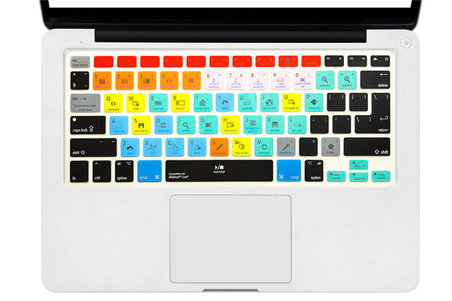 DAW Macbook Keyboard Shortcut Cover Skin