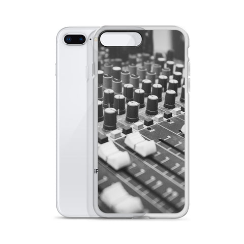 iPhone Case (Mixing Desk)