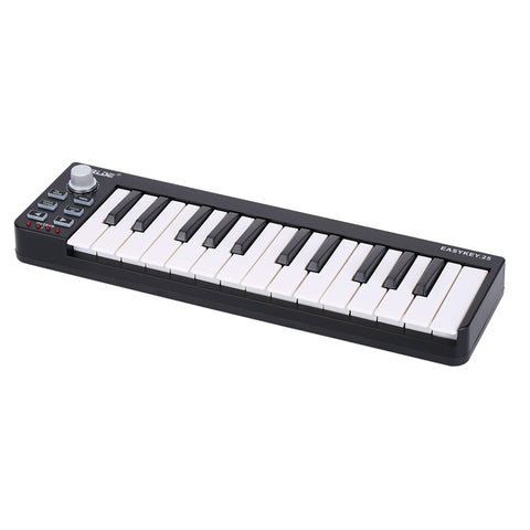 25 Velocity Sensitive USB MIDI Controller