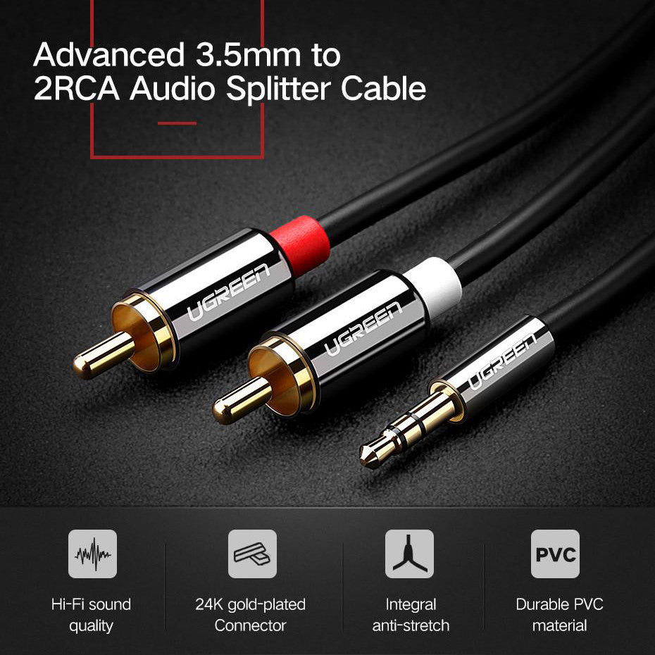 RCA to 3.5mm Audio Cable