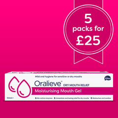 Oralieve Moisturising Mouth Gel <b>5 pack DEAL</b>