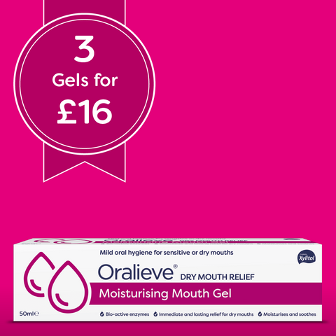 Oralieve Moisturising Mouth Gel 3 pack deal