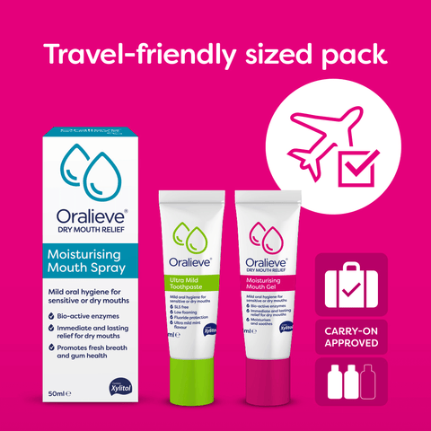 Oralieve Travel Pack