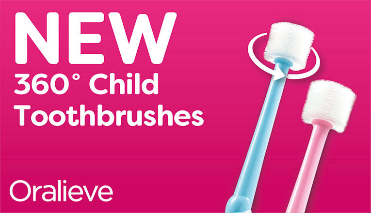 NEW Oralieve Child 360 Toothbrush