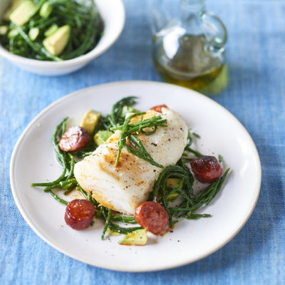 'Cliffs of Cornwall' Baked Cod Parcel
