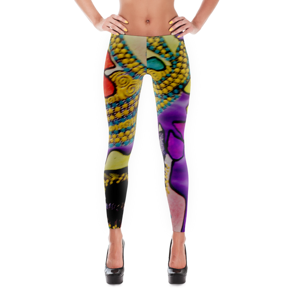 Special Edition Cat Walk Leggings for Fitness, Fun & Yoga