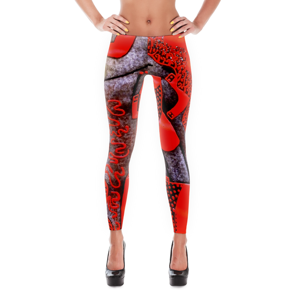 Special Edition GirlPower Rhules Leggings for Fun, Fitness & Yoga - Buyyourselfagift