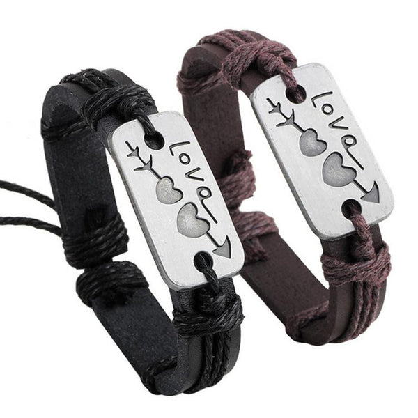"FREE - Lovers Luxury Fashion Bracelet """"LOVE"" - (Just pay Shipping & Handling) - Buyyourselfagift"