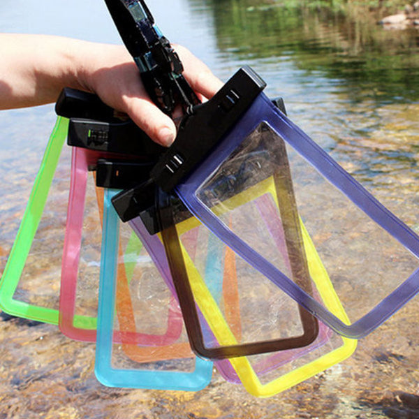 Clear Watertight Pouch for Samsung Galaxy Ace  S5830i GT S5830 GT-S5830i  Waterproof - Buyyourselfagift