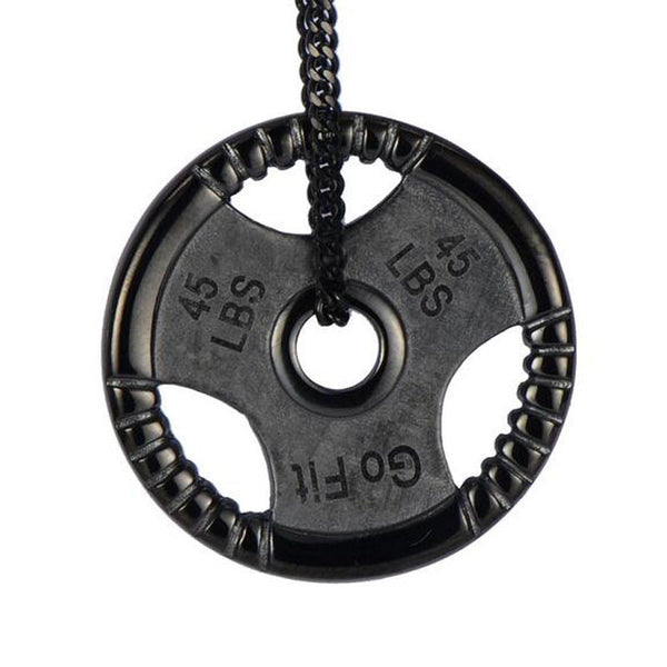 Crossfit Dumbell Fitness Necklace - Buyyourselfagift