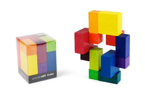Playable ART Cube (Compact Packaging)