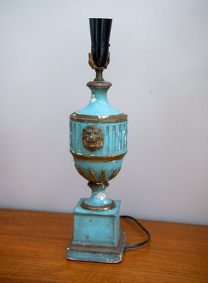 1950'S Borghese Chalkware Table Lamp.