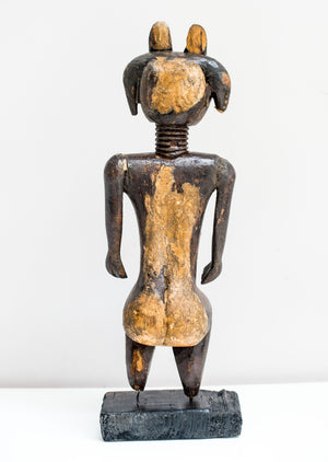 AFRICAN TRIBAL ASHANTI FIGURE ...Fab Interior design piece circa 1950.