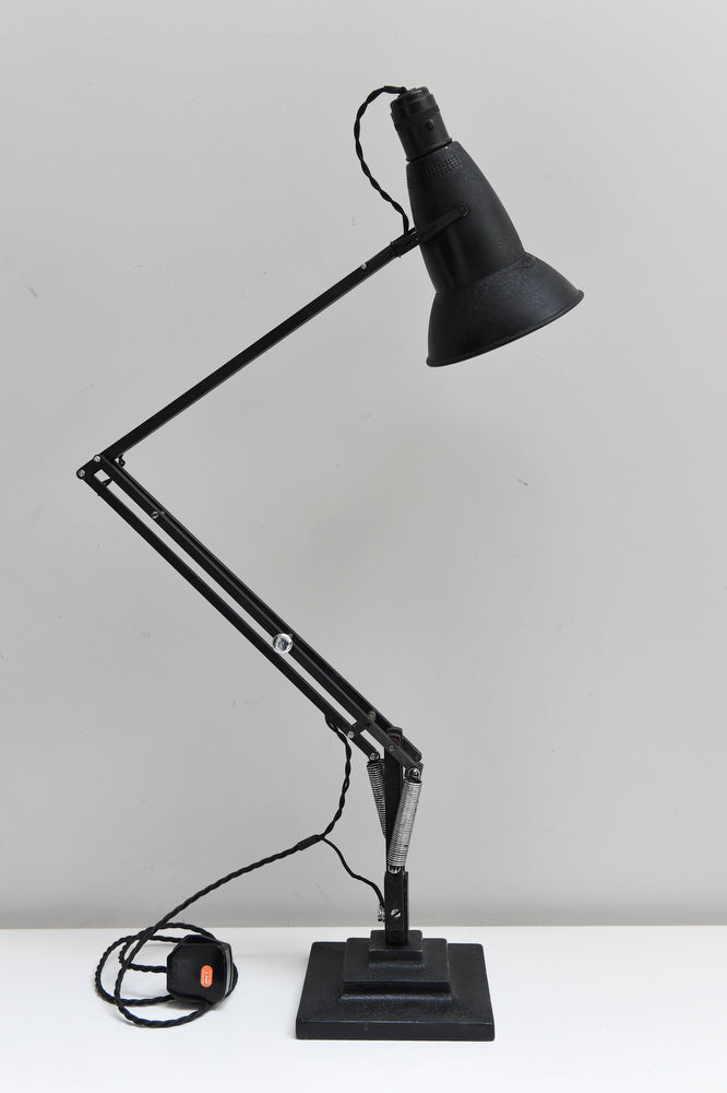 Rare 3 step 1930s anglepoise model 1227 lamp projectvintage salvaged and restored retro pendant ceiling wall lightsindustrialtable lamps antique mozeypictures Image collections