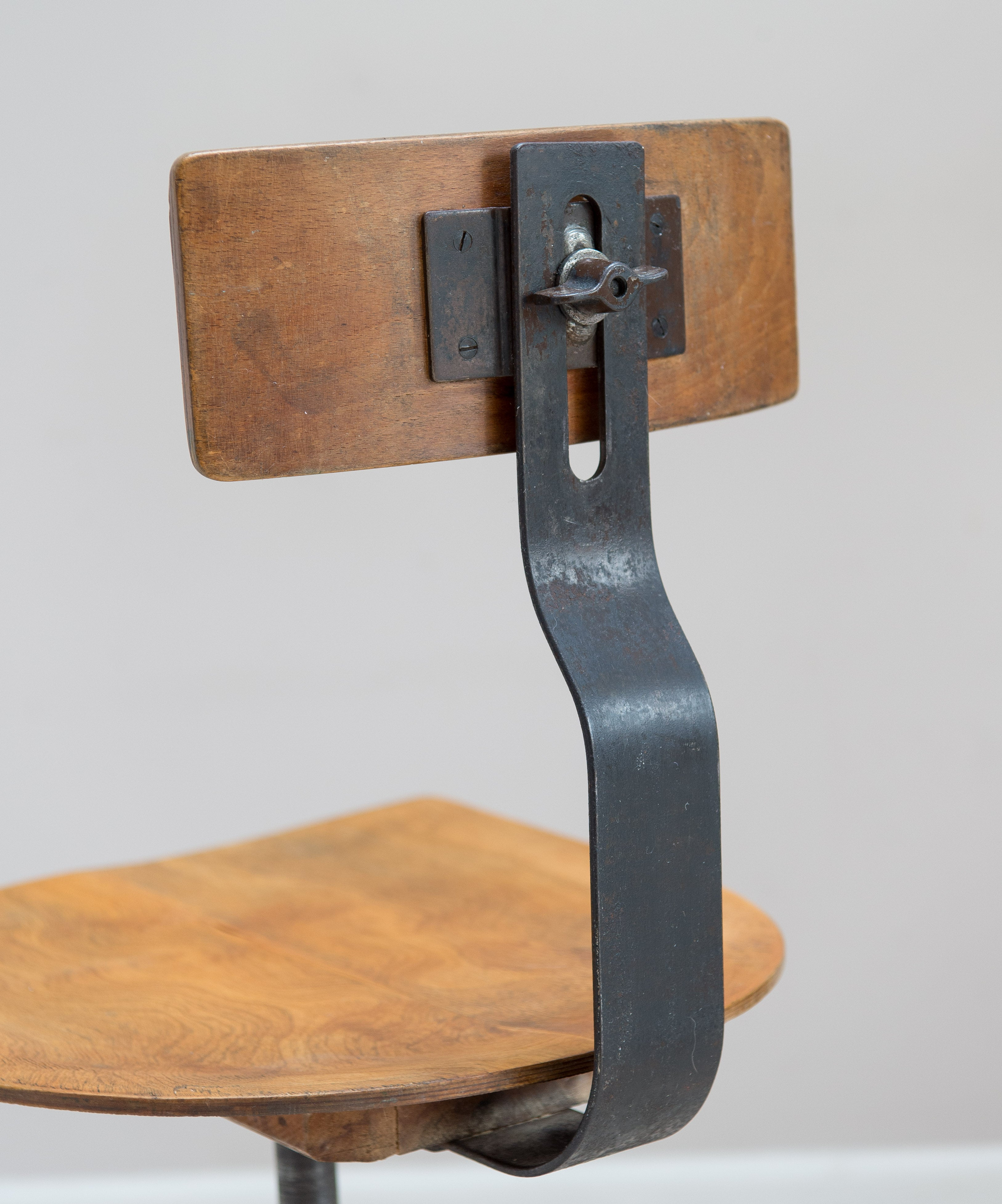 Singer Machinist Or Work Stool/Chair. 1930s English