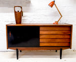 Mid-Century Teak Sideboard By Nils Jonsson For Hugo Troeds. Swedish 1960's