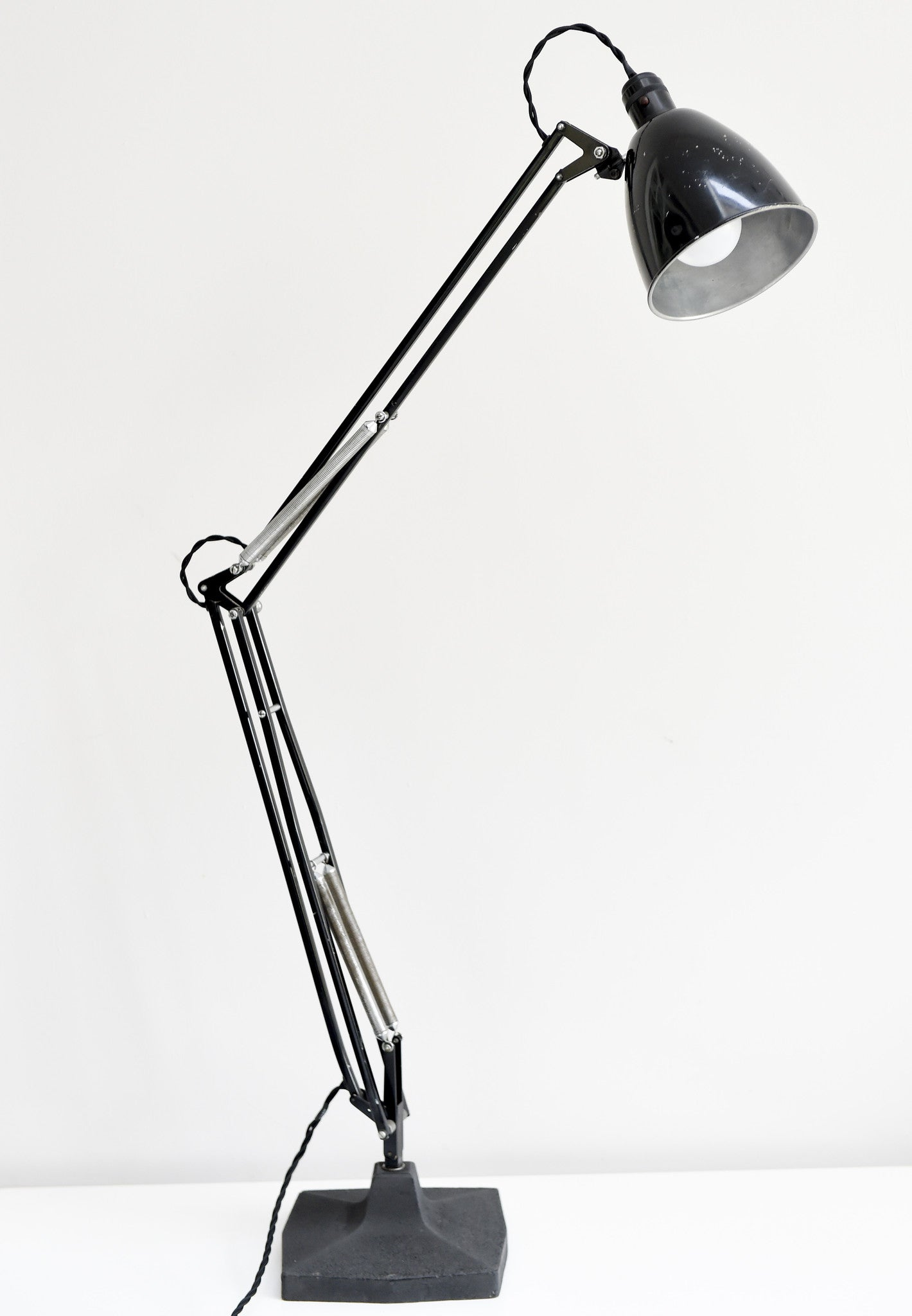 lamp pink anglepoise black cat the classic book light shop