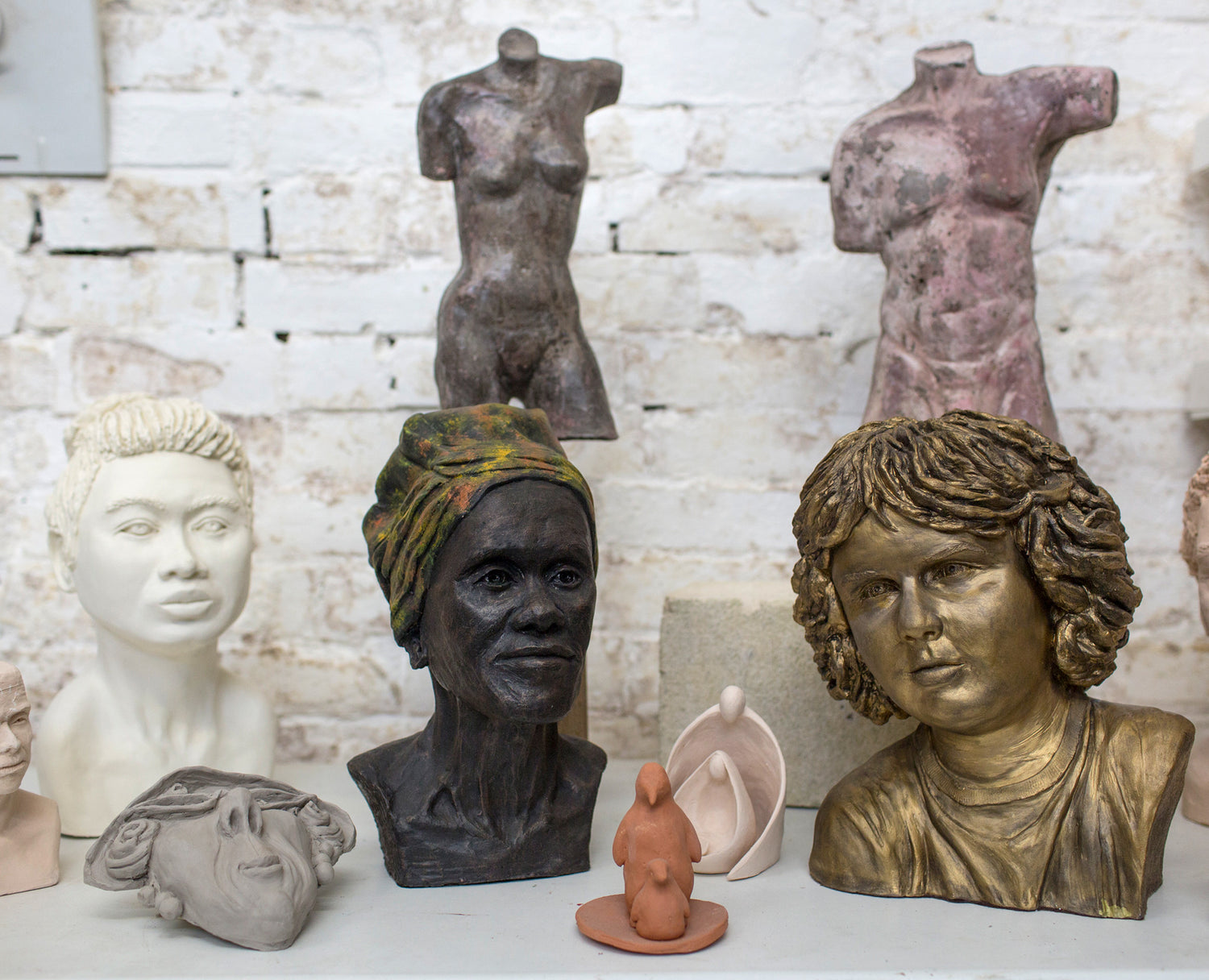 Clay Sculpture