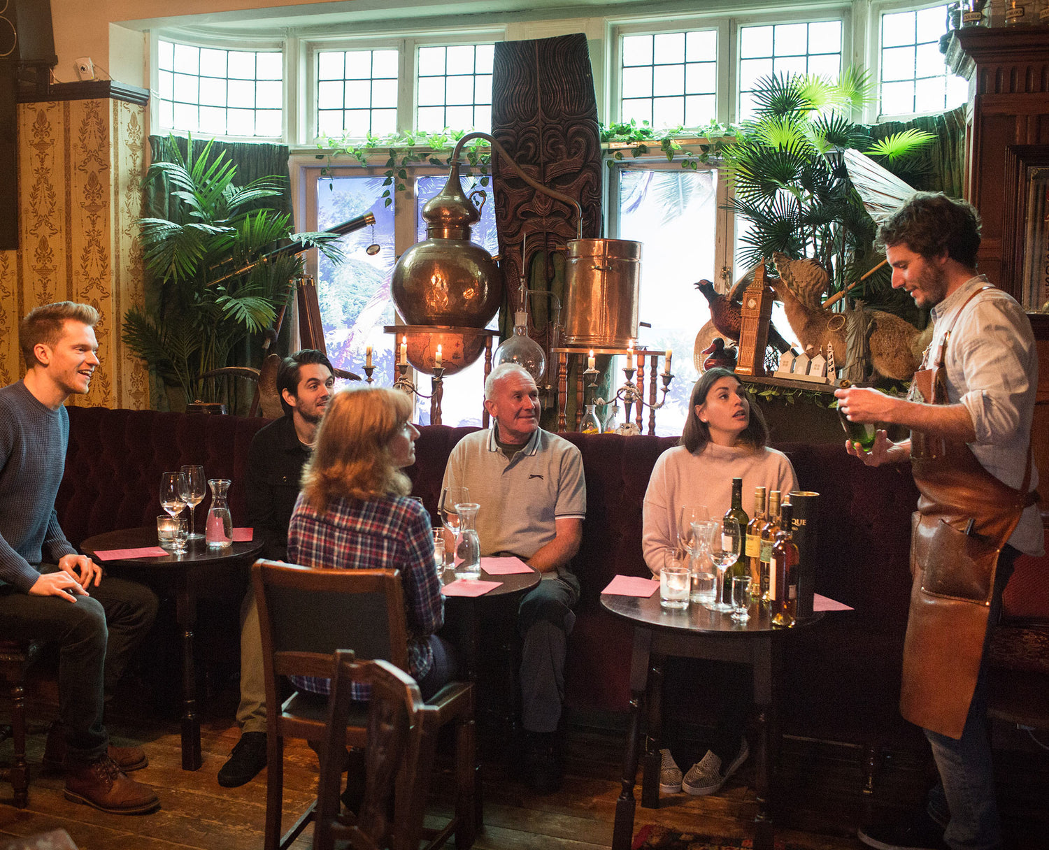 A spirits and wine Drinks Masterclass