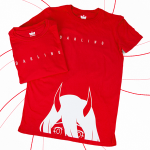 002 Darling Tee | Red Edition