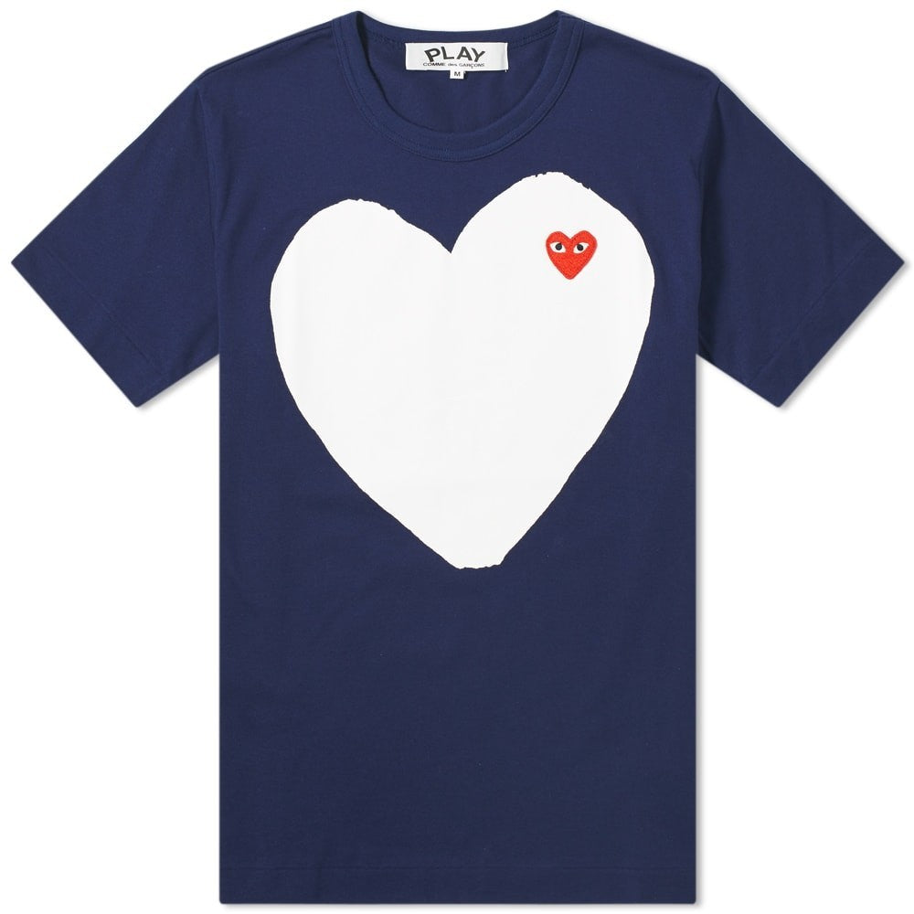 Comme des Garcons PLAY PLAY SOLID HEART T-Shirt Youth T-Shirt - WHAT A PETIT