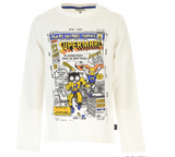 Little Marc Jacobs GRAPHIC LONGSLEEVE Kids T-Shirt - WHAT A PETIT